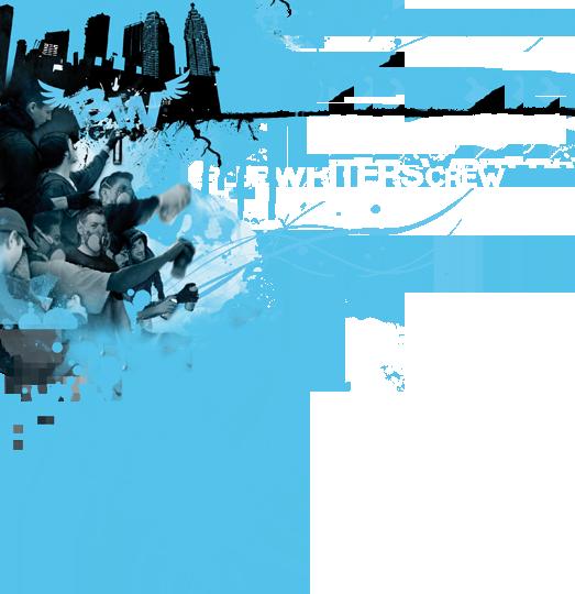 Blue Writers Graffity Logo